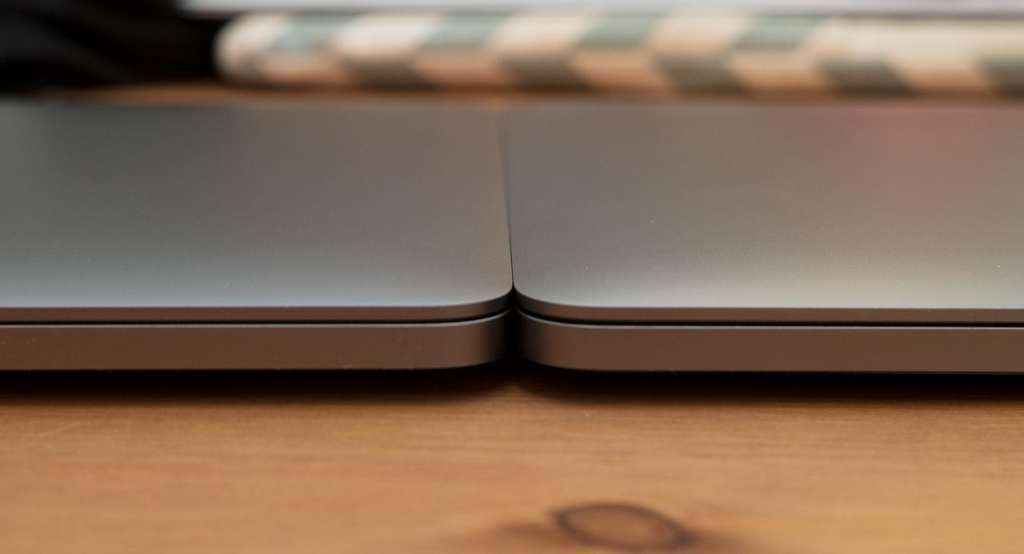 The same thickness as the entry-level MacBook Pro, but with much the same battery life. We'll call that a win.