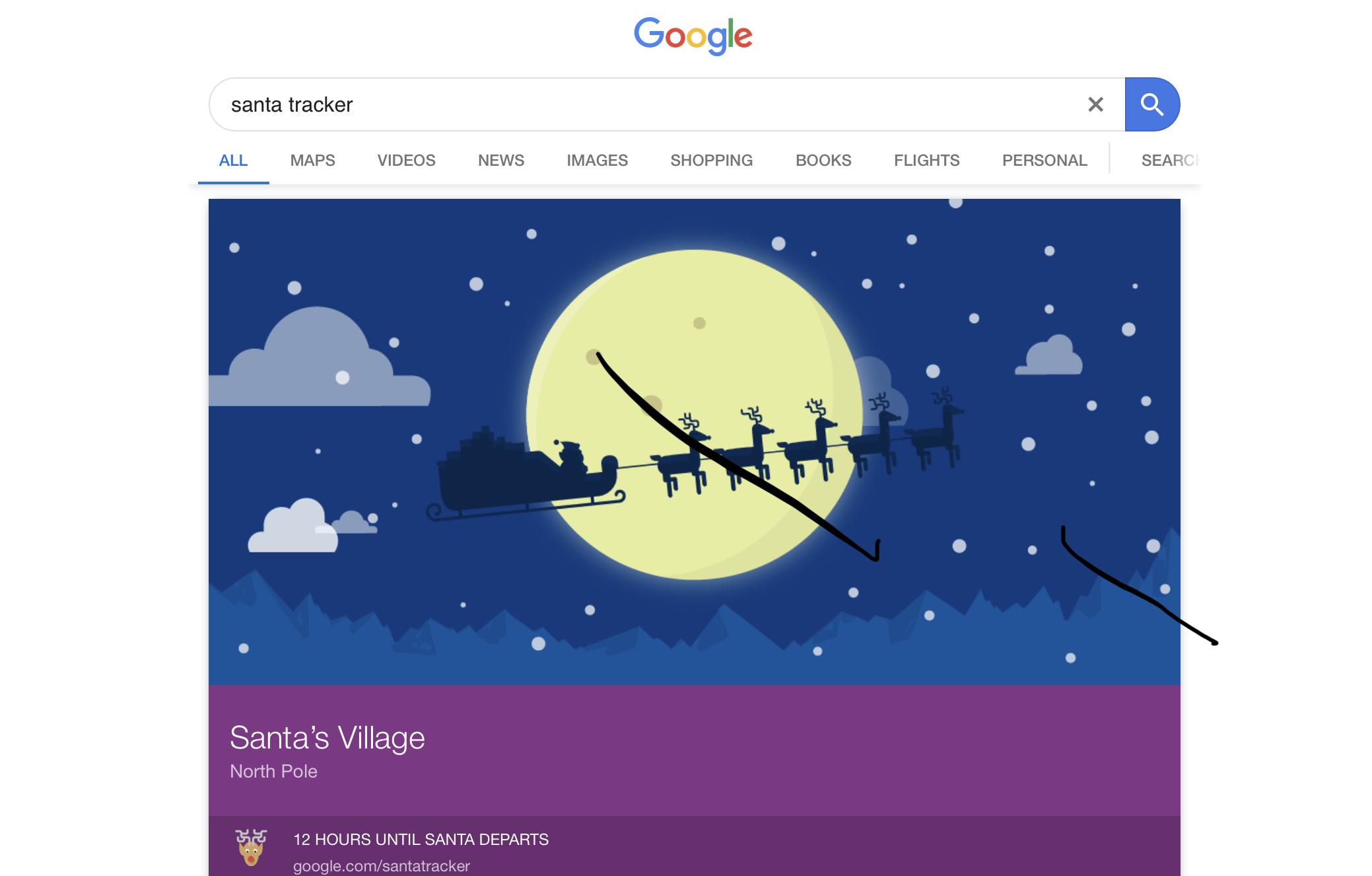 Girl still believes in Santa despite talk with Donald Trump