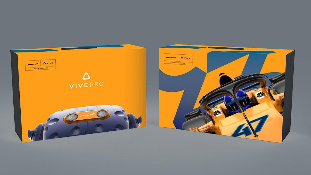 HTC McLaren Vive Pro VR