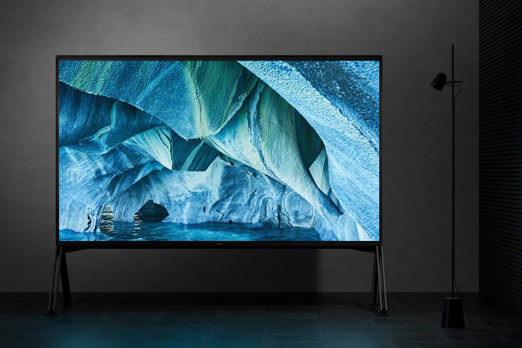 Sony Z9G 8K TV announced at CES