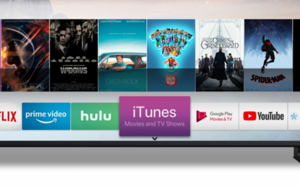 Samsung's iTunes Movies & TV Shows app for Samsung 2018 and 2019 TVs