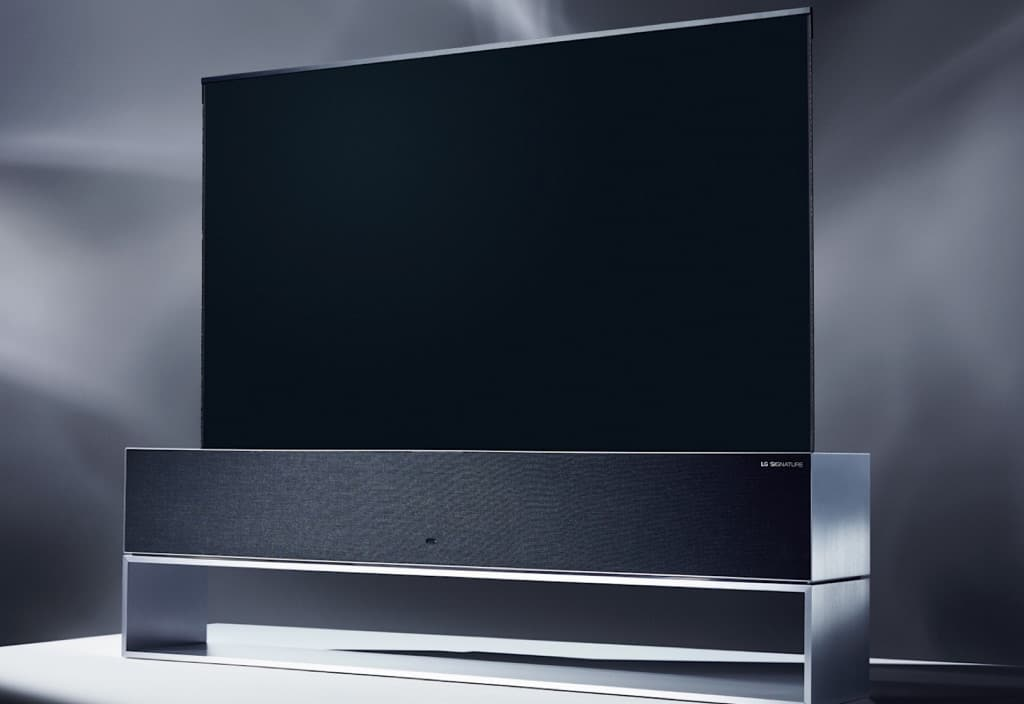 LG Signature OLED TV R launched at CES 2019
