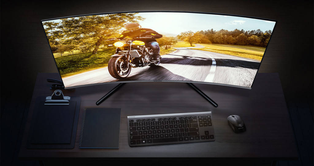 Samsung's UR59C curved monitor